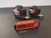metre et laser