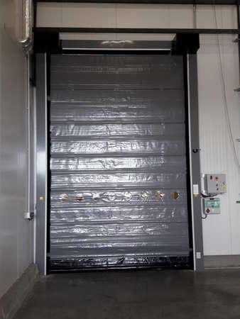 Photo de l'actualité Porte souple industrielle